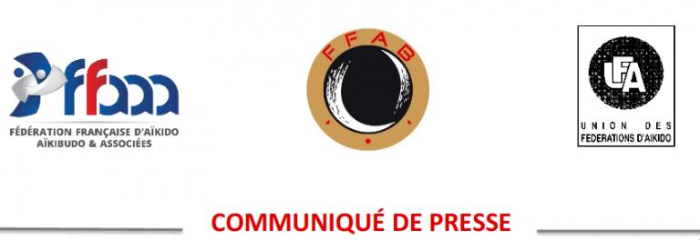 Communiqué de presse FFAB – FFAA