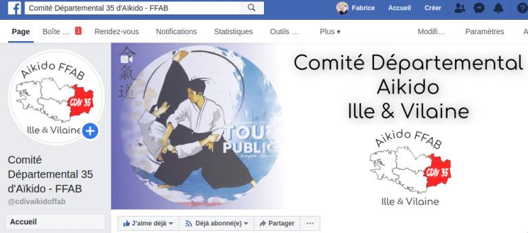 Une page Facebook pour le Cdiv35